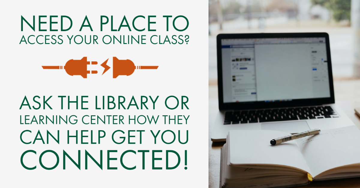 Access Online Class inside Library
